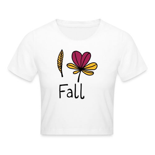 Fall in love - Crop T-Shirt