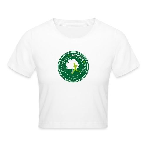 EARTHLETE Brand Logo - Crop T-Shirt