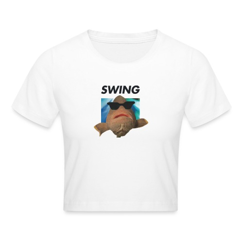 SWING fisken - Crop T-Shirt