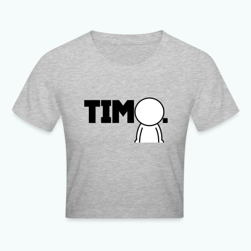 Design met ventje - Crop T-Shirt