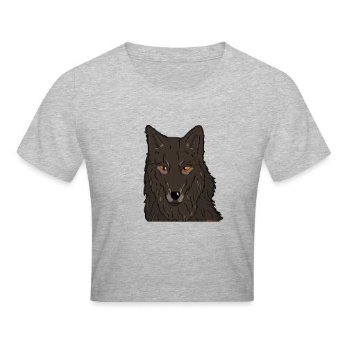 HikingMantis Wolf png - Crop T-Shirt