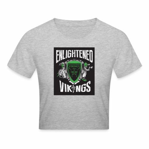 Enlightend Vikings - Cropped T-skjorte