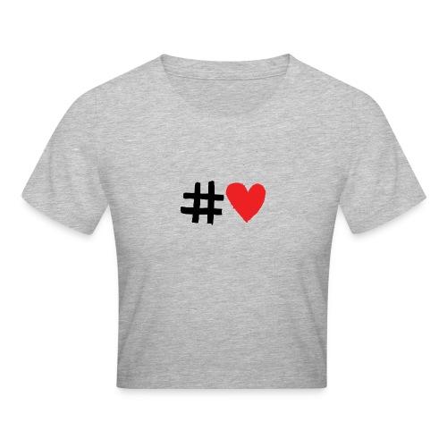 #Love - Crop T-Shirt