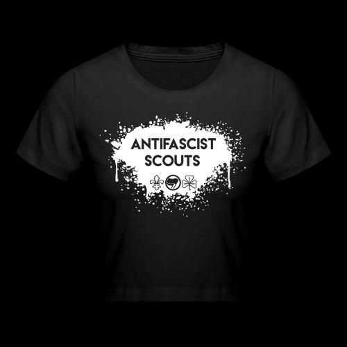 Antifascist Scouts - Crop T-Shirt