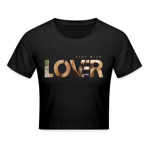 Stay Wild Lover - Maglietta crop