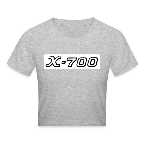 Minolta X-700 White - Maglietta crop