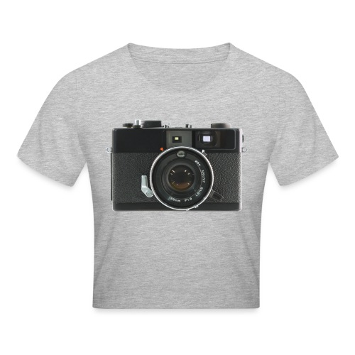 Vintage Camera Auto S3 - Maglietta crop