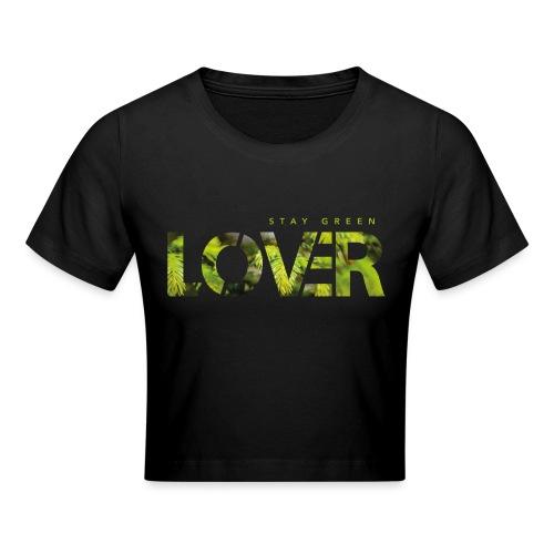 Stay Green Lover - Maglietta crop