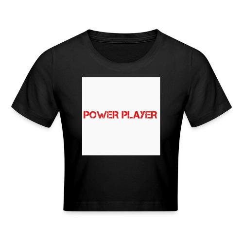 Linea power player - Maglietta crop
