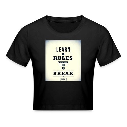 RULES - Crop T-Shirt