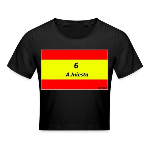 A.INIESTA - Camiseta crop