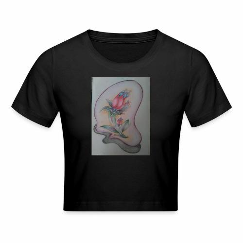 fiore magico - Maglietta crop
