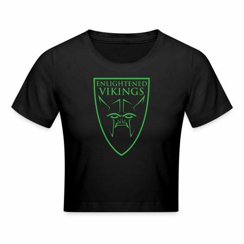 Enlightened Vikings (Org) - Cropped T-skjorte