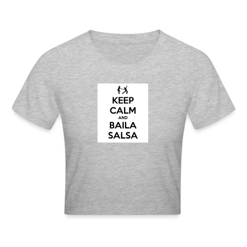 keep-calm-and-baila-salsa-41 - Maglietta crop