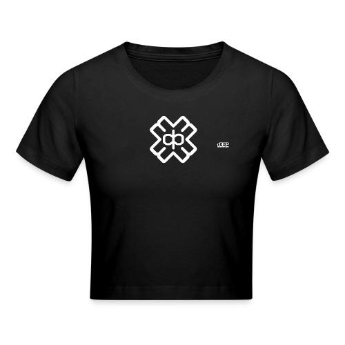 d3eplogowhite - Crop T-Shirt