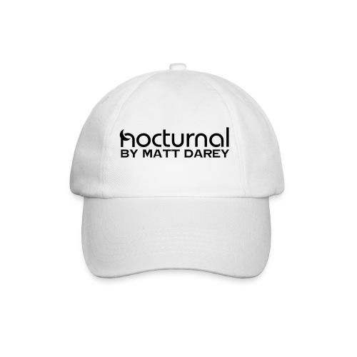 Nocturnal by Matt Darey Black - Baseball Cap