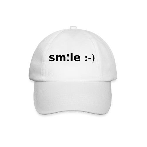 smile - sorridi - Cappello con visiera