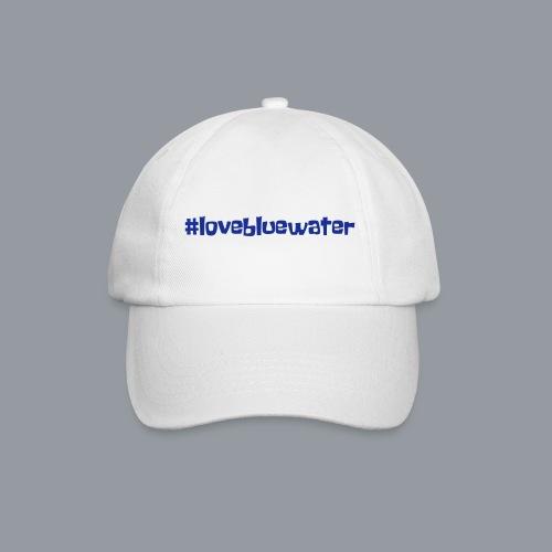 #lovebluewater - Baseballkappe