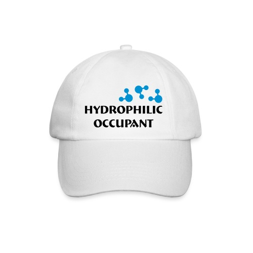 Hydrophilic Occupant (2 colour vector graphic) - Baseball Cap