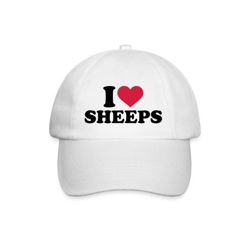 i-love-sheeps-texte - Casquette classique