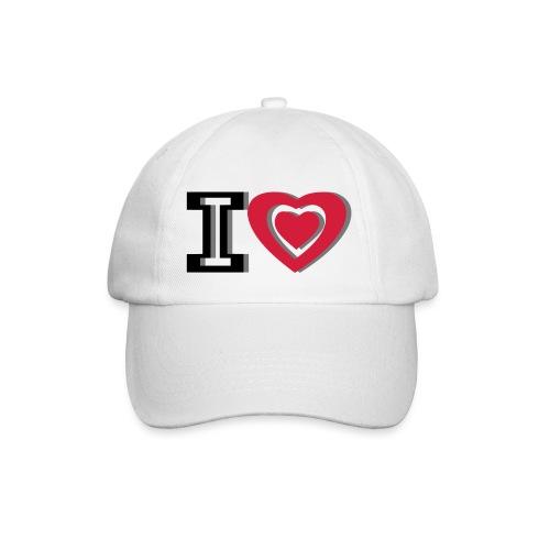 I LOVE I HEART - Baseball Cap