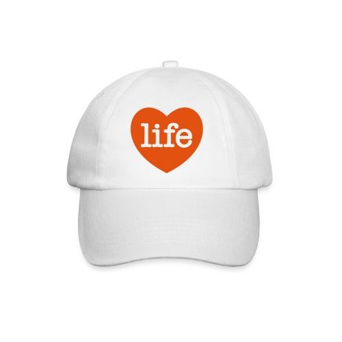 LOVE LIFE heart - Baseball Cap