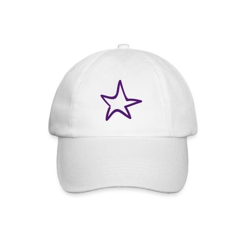 Star Outline Pixellamb - Baseballkappe