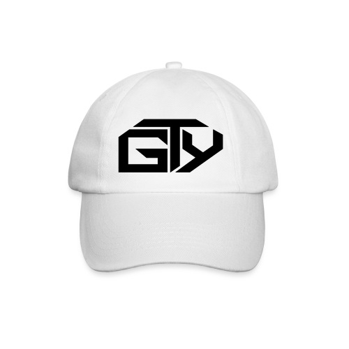 GTY_Logo_solo_weiß_Pfade( - Baseballkappe