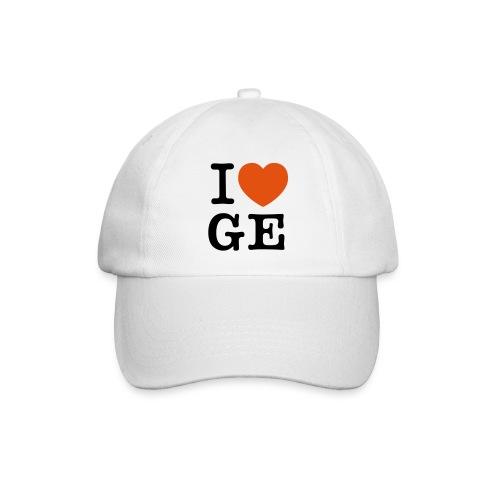 I Love Ge - Baseballkappe