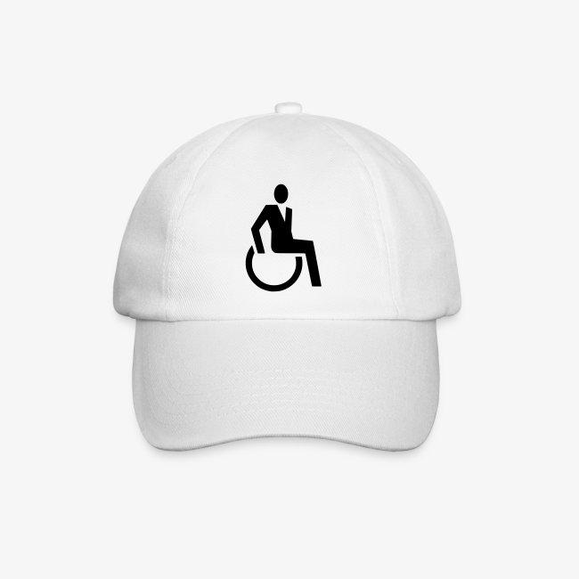 Sjieke rolstoel gebruiker symbool
