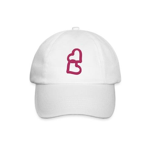 Due cuori uniti ca27 - Cappello con visiera