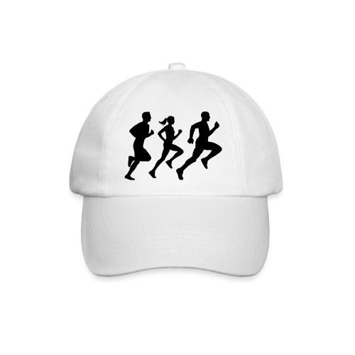 runner group Läufer Gruppe Team - Baseballkappe