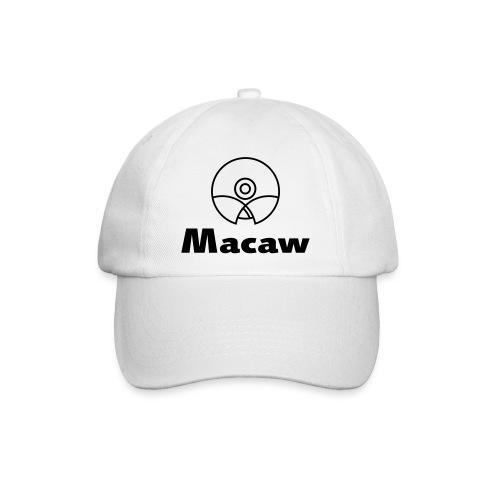 Macaw Logo Outline - Baseballcap