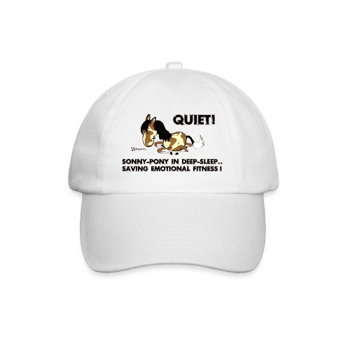 QUIET Sonny Pony in deep sleep - Baseballkappe