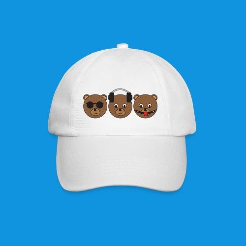 3 Wise Bears - Baseball Cap