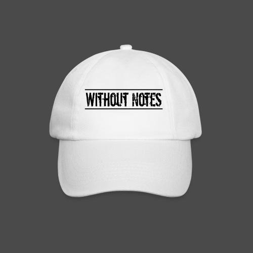 Without Notes Schriftzug Nummer 1 - Baseballkappe