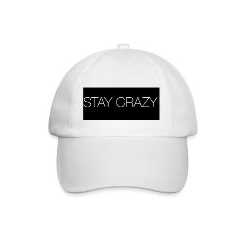 STAY CRAZY - Basebollkeps