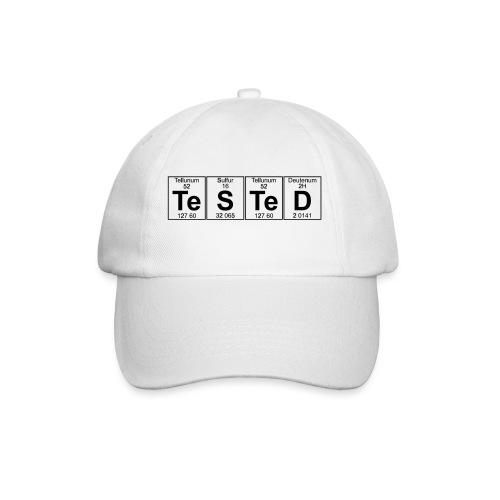 Te-S-Te-D (tested) (small) - Baseball Cap