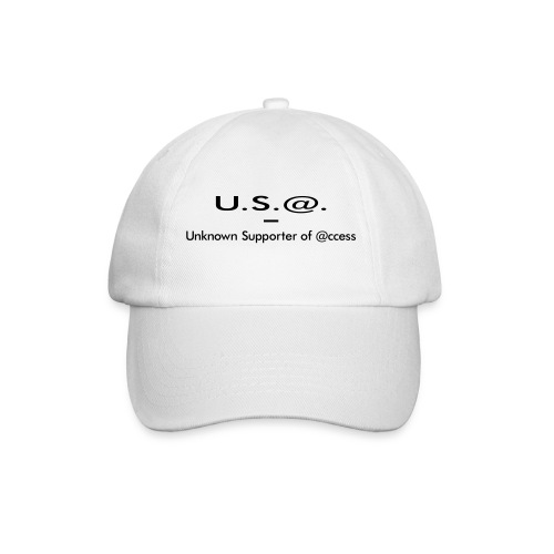 U.S.@. - Unknown Supporter of @ccess - Baseballkappe