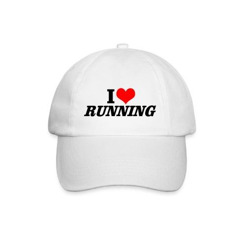 I love running - Baseballkappe