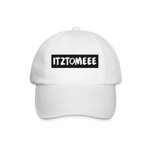 ItzTomeee Logo Black - Baseball Cap