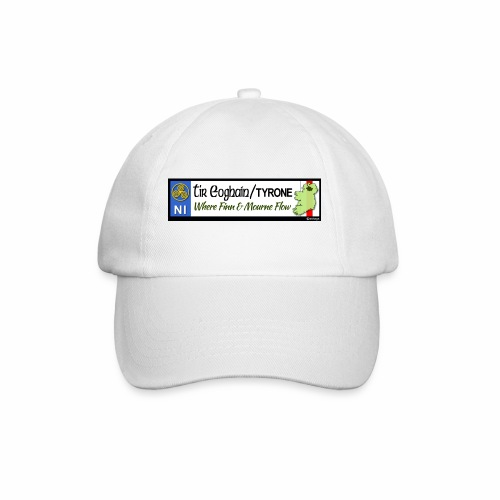 TYRONE, NORTHERN IRELAND licence plate tags decal - Baseball Cap