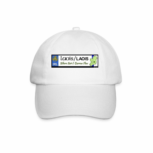 LAOIS, IRELAND: licence plate tag style decal eu - Baseball Cap