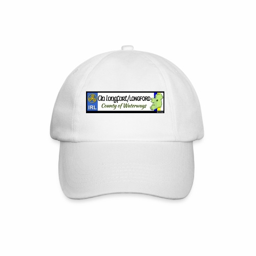 LONGFORD, IRELAND: licence plate tag style decal - Baseball Cap