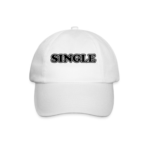 single - Baseballcap