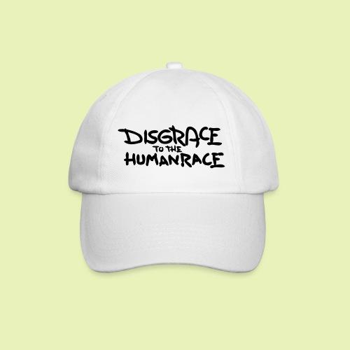 Disgrace to the human race - Baseballcap