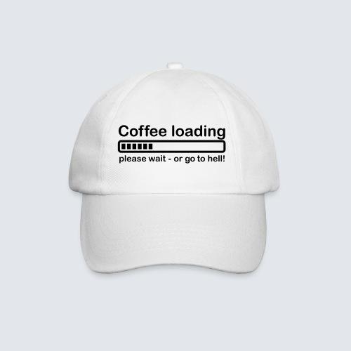 Coffee loading - Baseballkappe