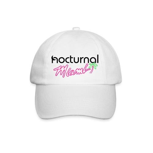 Nocturnal Miami Palm Tree black - Baseball Cap