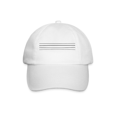 Re-entrant Womens White Tshirt - Baseball Cap
