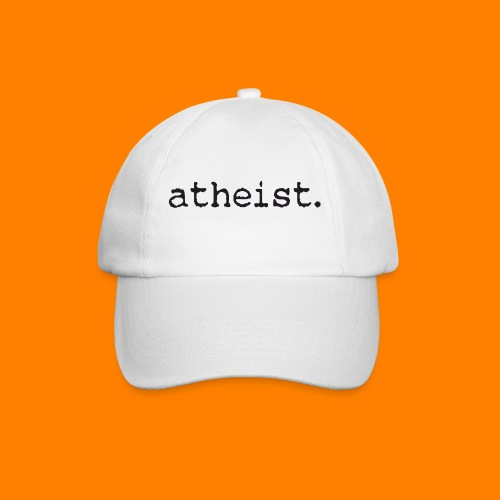 atheist BLACK - Baseball Cap